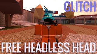 ROBLOX HOW TO GET FREE HEADLESS HEAD! [2017]