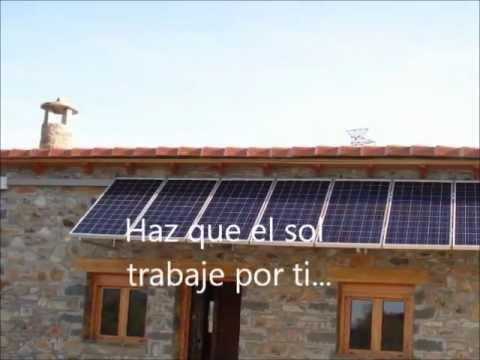 Placas solares en tejados youtube for Tejados solares