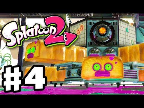 Splatoon 2 - Gameplay Walkthrough Part 4 - Octo Oven Boss