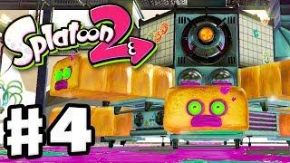 Splatoon 2 - Gameplay Walkthrough Part 4 - Octo Oven Boss Fight! (Nintendo Switch)