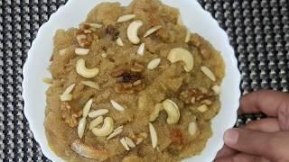 Traditional Suji Aur Ande Ka Halwa Recipe by **Kitchen With Fatima**