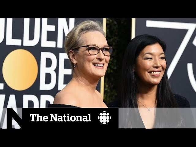 Golden Globes red carpet turned black amid Hollywood's sexual harassment allegations