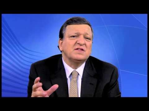 President Barroso on EU Children of Peace