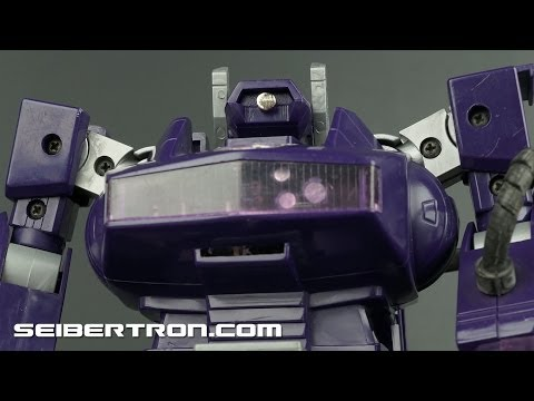 Transformers G1 Shockwave 1985 product demonstration 131110b