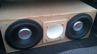 Boston Acoustics G5 12s flex to white girl