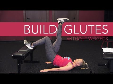 Grow Your Glutes Without Weights (IS IT POSSIBLE?)
