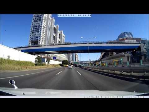 Tokyo highway drive 2015 Dec