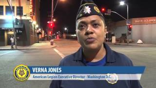 American Legion spends a night on Skid Row with LA's homeless veterans