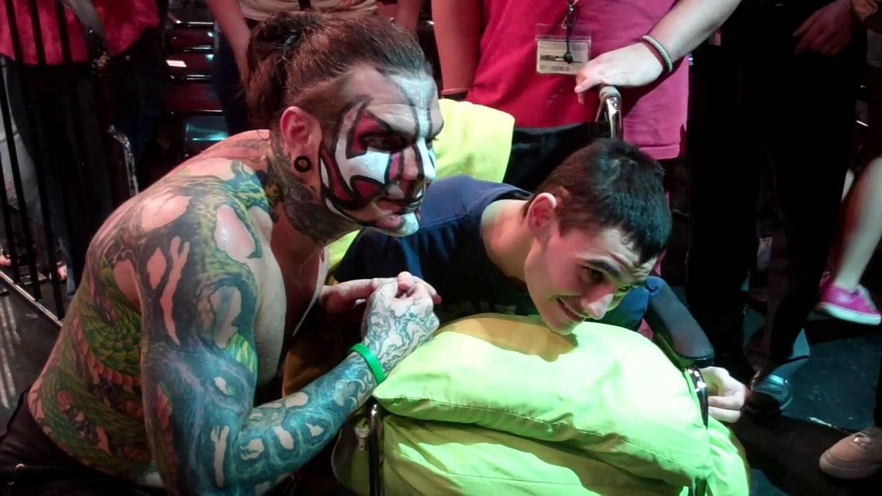 Uncategorized Jeff Hardy Kids tna wrestling fans meet jeff hardy at universal studios orlando march 2013 youtube