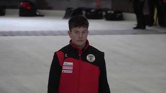 Eisstock EM 2020, Jugend U16, 1.Qualifikation GER : AUT