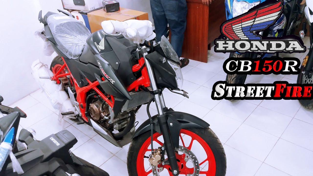 Foto Motor Cb 150 R Streetfire All New 150r Raptor Black Jakarta First Impression 2017 Honda Cb150r Special Edition