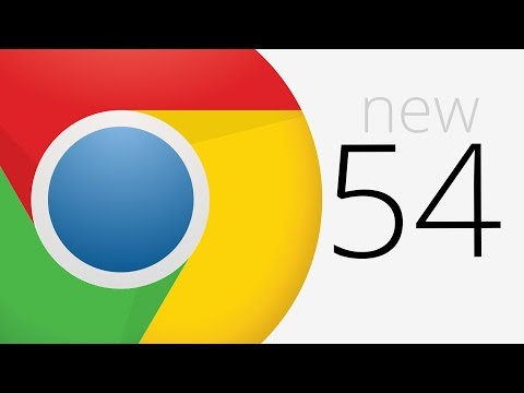 Chrome 54: Custom Elements v1, Broadcast Channel API, Foreign Fetch and more
