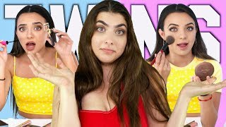 Download Which Twin Is Better At Makeup With The Merrell Twins Mp3 and Videos