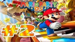 """DS   Mario Party DS Parte 2 """"El conservatorio de Toadette y Hermano martillo"""" Comentando"""