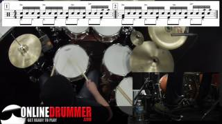Drum Lesson - Sixteenth-Note Snare Groove