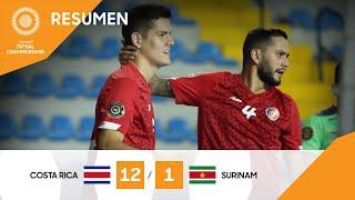 CFC 21: Costa Riva vs Surinam