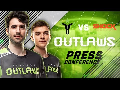 Houston Outlaws Press Conference Stage 2 Week 4 (San Francisco Shock)