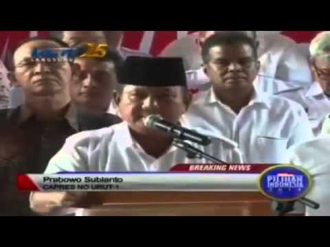 Pernyataan Prabowo Subianto Menolak Hasil Pilpress | Wonderdir Pilpres