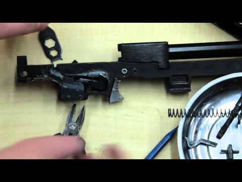 Hipoint Carbine disassemble, trigger swap, reassembly