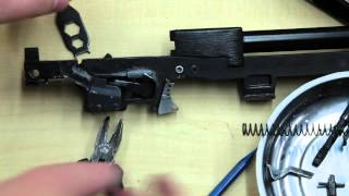 Hipoint Carbine disassemble, trigger swap, reassembly.