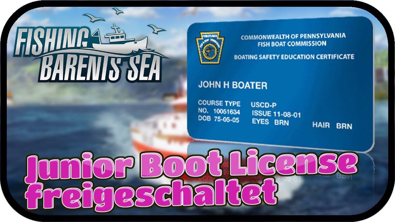 Fishing Barents Sea 006 Junior Boot License Freigeschaltet