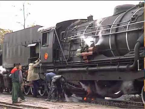 Zimbabwe Steam: NRZ 20 Class Garratts Bulawayo to Plumtree
