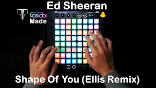 Video Ed Sheeran - Shape Of You (Ellis Remix) l Launchpad Pro Cover + Project File download MP3, 3GP, MP4, WEBM, AVI, FLV Juni 2018