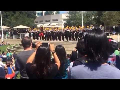 Grambling Marching Band plays at Apple - Cupertino, CA - 9/4/15