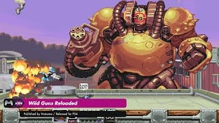 Gameplay: Wild Guns Reloaded (PS4, Switch, PC)