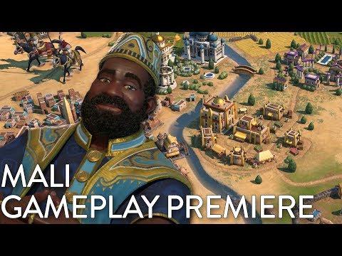 Civilization VI: Gathering Storm - Mali Gameplay Premiere (Dev Livestream)