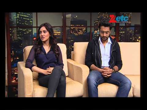 Jackky Bhagnani, Neha Sharma with Komal Nahta - ETC Bollywood Business