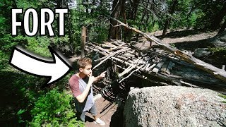 FOREST FORT RETURNS! *nature fort*