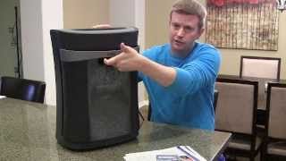Royal Cross-Cut Paper Shredder - Review and Demonstration