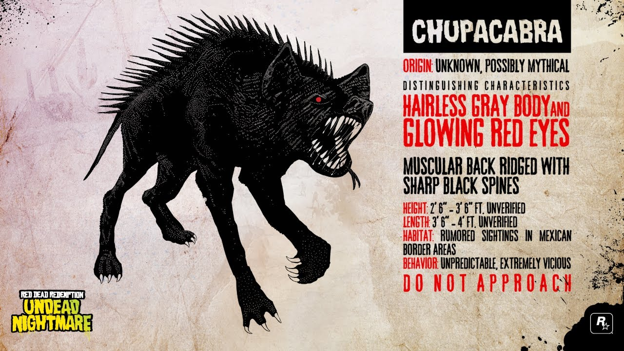 Where Is The Chupacabra In Red Dead Redemption Undead Nightmare: Red Dead Redemption Undead Nightmare (Chupacabra And