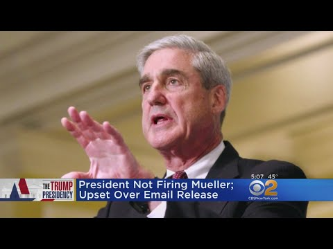 Trump Says He's Not Considering Firing Special Counsel Mueller