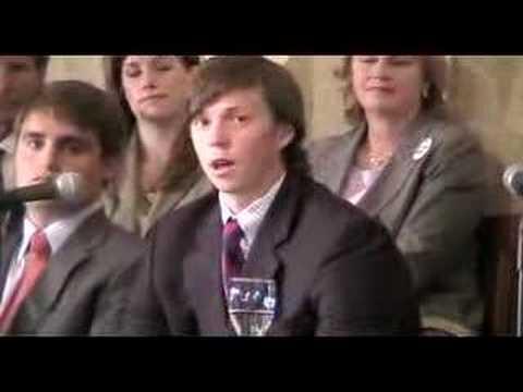 Duke lacrosse — Collin Finnerty speaks