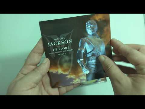 Michael Jackson - HIStory, past present and future book I - UNBOXING 4K