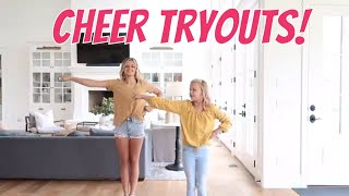 Trying Out For Cheer | The LeRoys