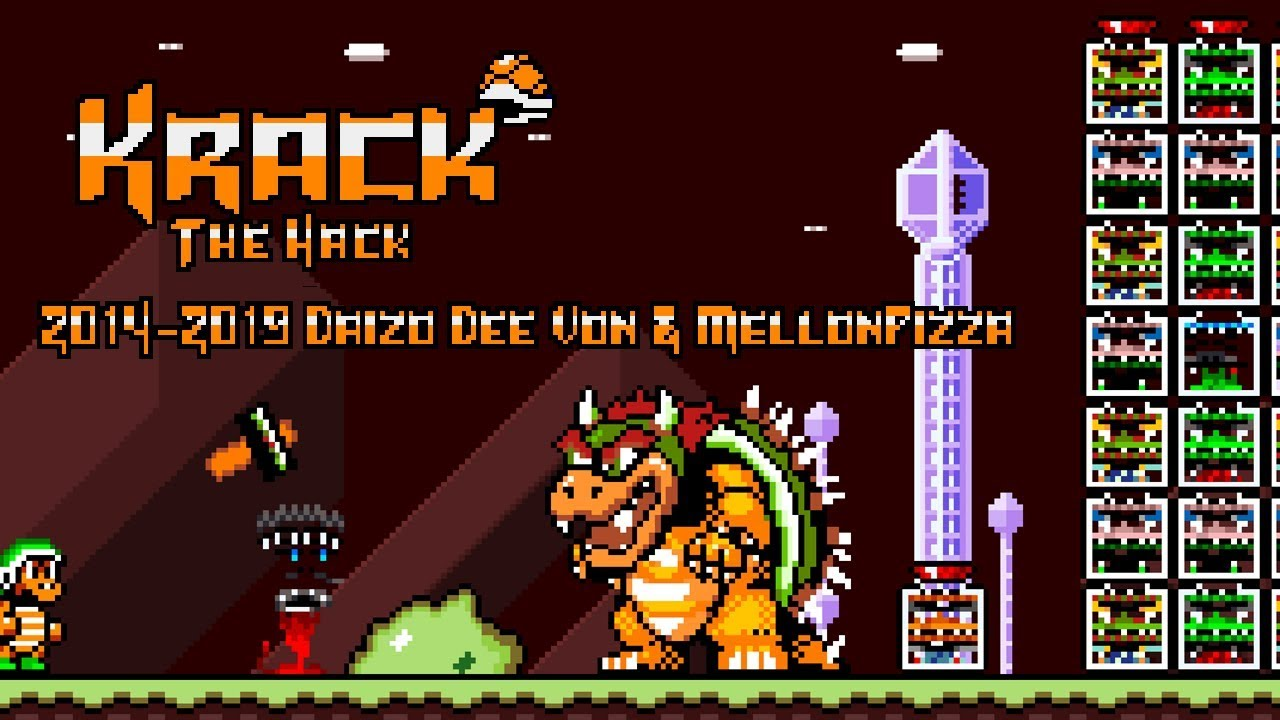 Krack The Hack (C3 Winter 2019) | Super Mario World ROM Hack (スーパーマリオワールド)