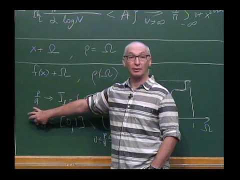 New Trends in Onedimensional Dynamics - Konstantin Khanin