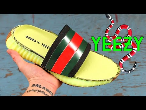 55581a06fe0ccb THE GUCCI YEEZY SLIDE  13