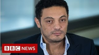 Egypt protests: The unlikely man behind rare anti-government protests - BBC News