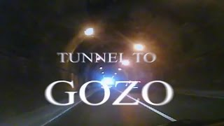 Drive through tunnel from Malta to Gozo