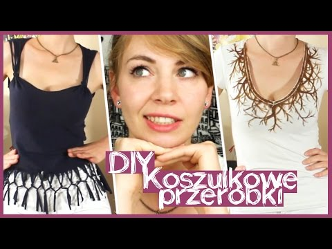 T-SHIRTS DIY ✄ Koszulkowe przeróbki ✄ ✂ Olsikowa