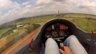 Paulo Greca - Voo de KW1 - Aeroclube de Tatuí (SP) 04/01/2013