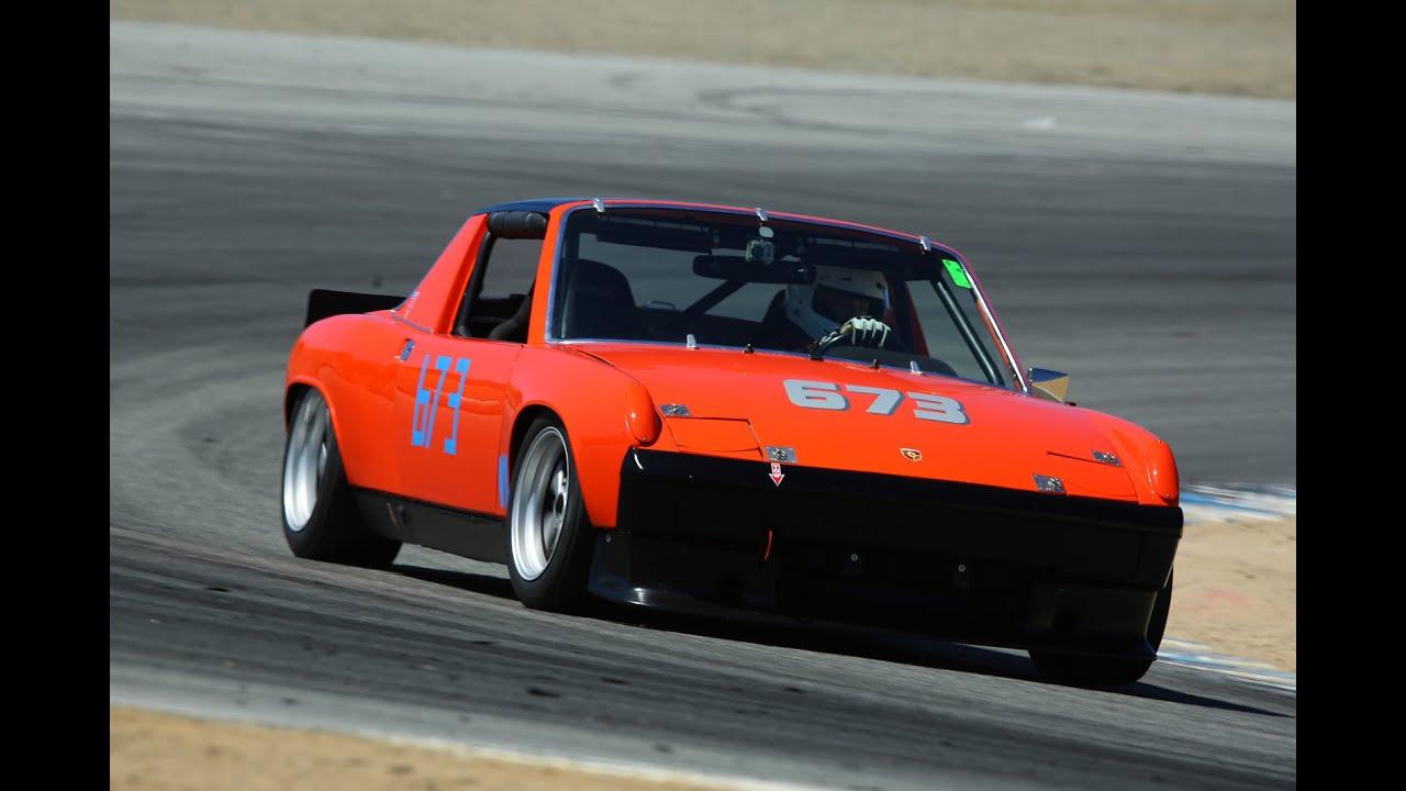 Porsche At Laguna Seca Youtube