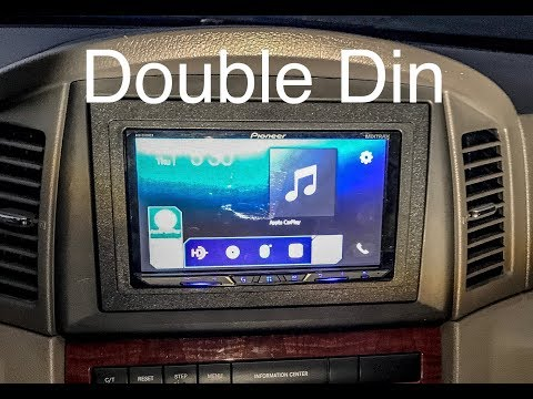 Double Din Installation: 2005 Jeep Grand Cherokee WK