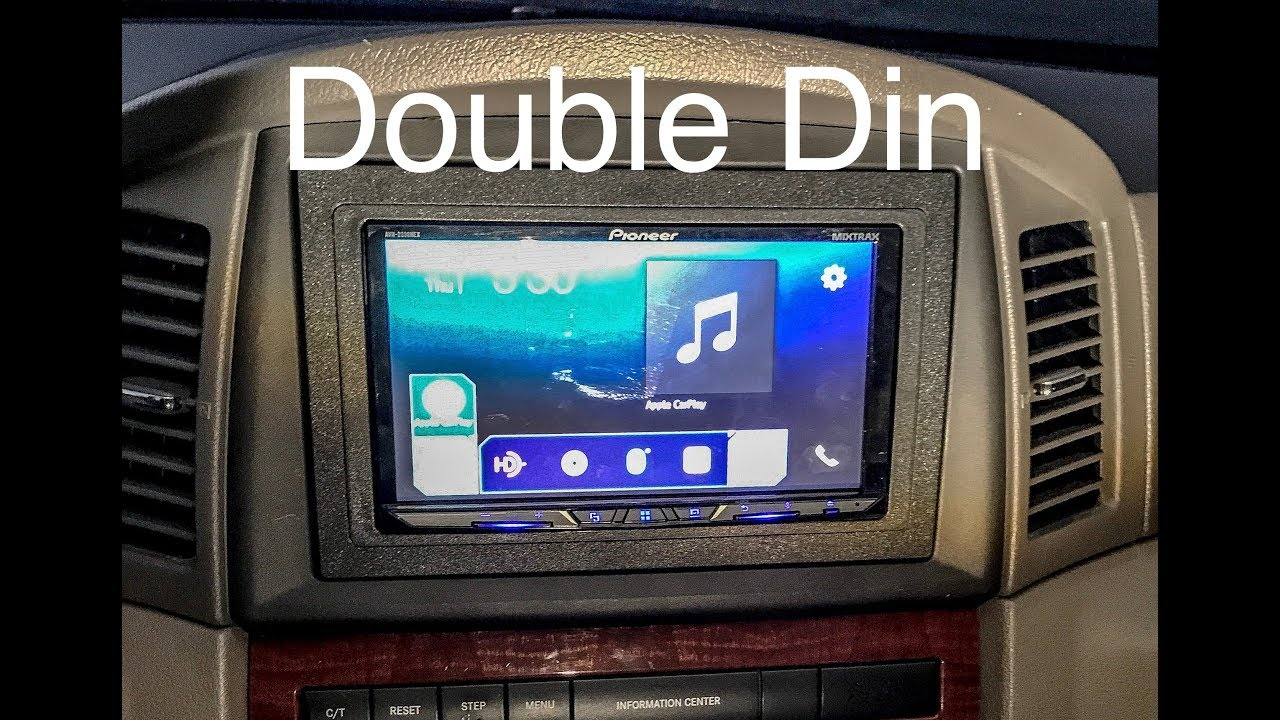 Double Din Installation: 2005 Jeep Grand Cherokee WK on