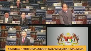 Skandal 1MDB dimasukkan dalam Sejarah Malaysia