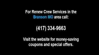 Wood Cleaning In Branson Mo By Renew Crew